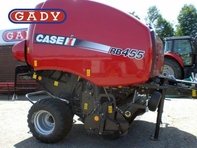 Round baler Case IH RB 455Case RB 455, 35967 USD - Truck1 ID