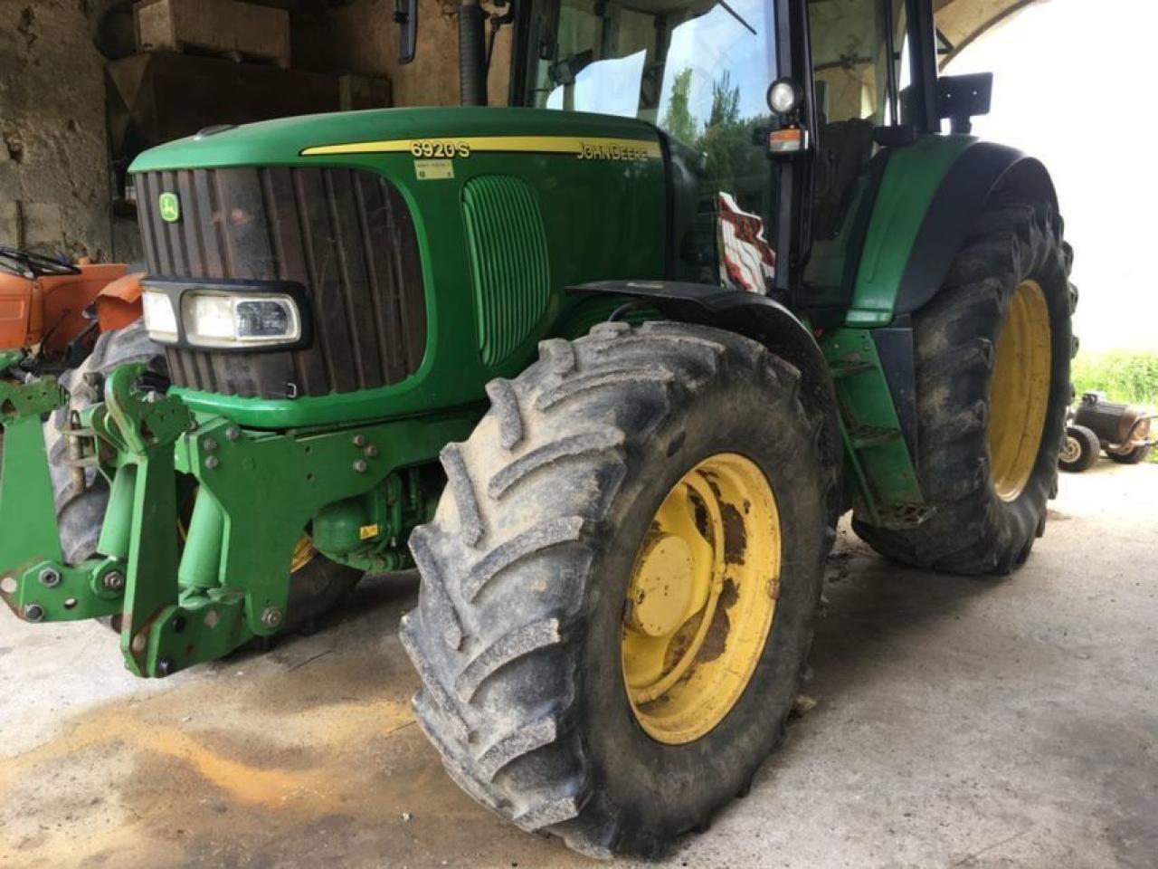 Prächtig Wheel tractor John Deere 6920 S, 36501 USD - Truck1 ID - 3800169 &MN_84