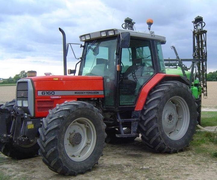Wheel tractor Massey Ferguson 6160, 15286 USD - Truck1 ID - 3327244