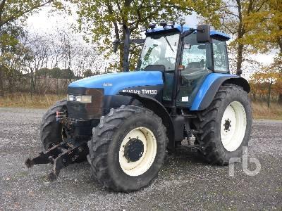 Wheel tractor NEW HOLLAND TM150 - Truck1 ID - 3318767