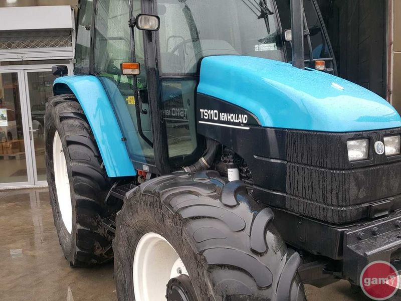 Wheel tractor NEW HOLLAND TS110 — 3335027
