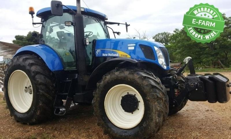 Wheel tractor New Holland T7030 - Truck1 ID - 3089074