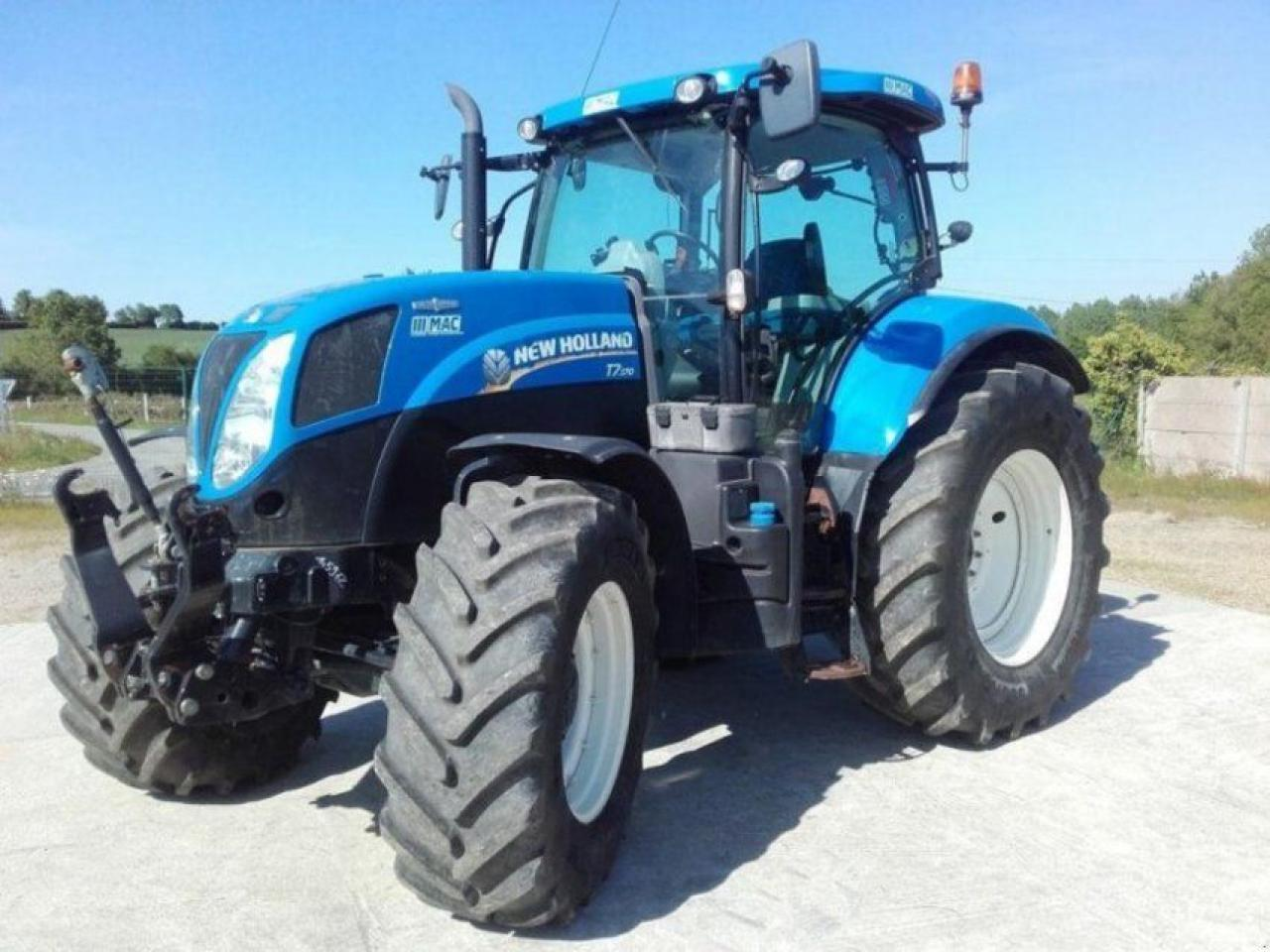 Wheel tractor New Holland T7 170 — 3902675