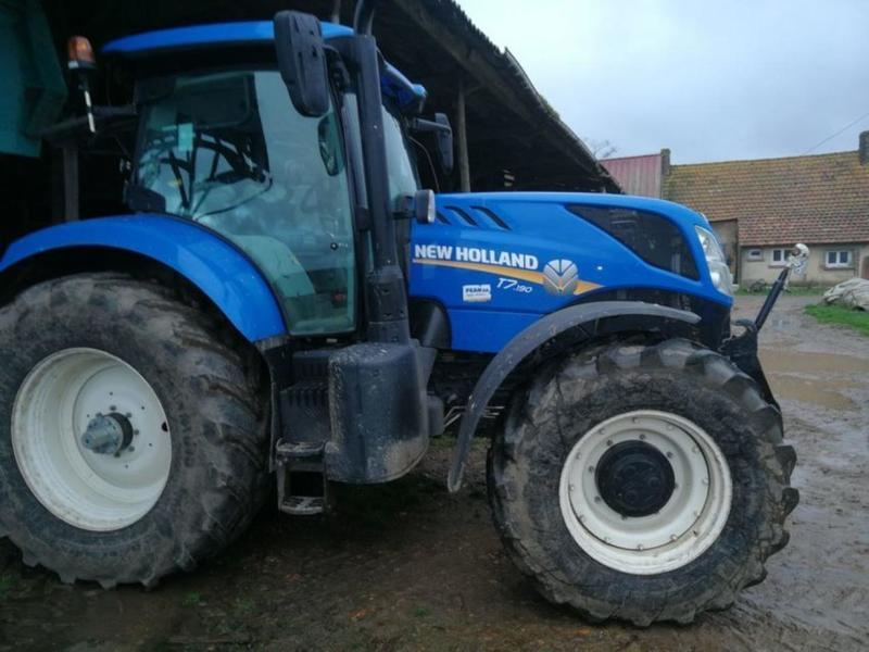 Wheel tractor New Holland T7 190 RC — 3548760
