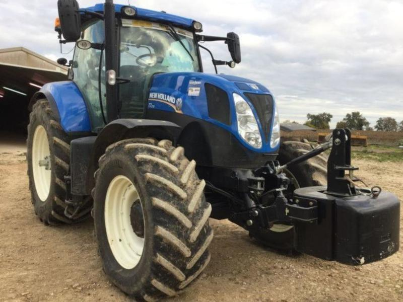 Wheel tractor New Holland T7 210 AC — 3362109