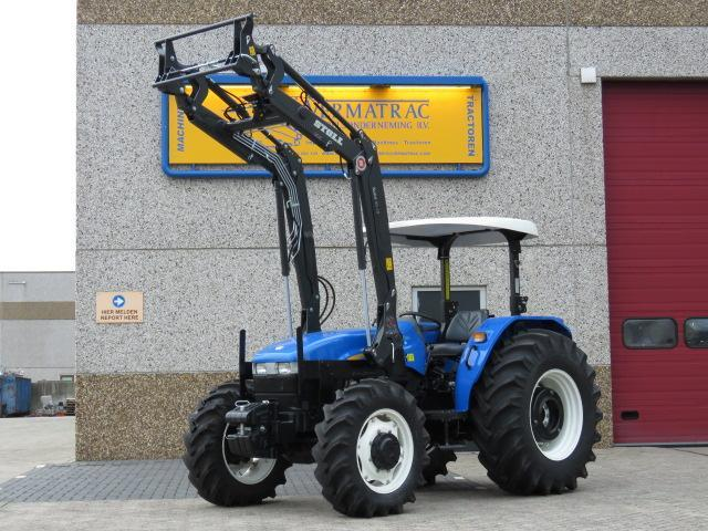 Wheel tractor New Holland TD80 — 3461565