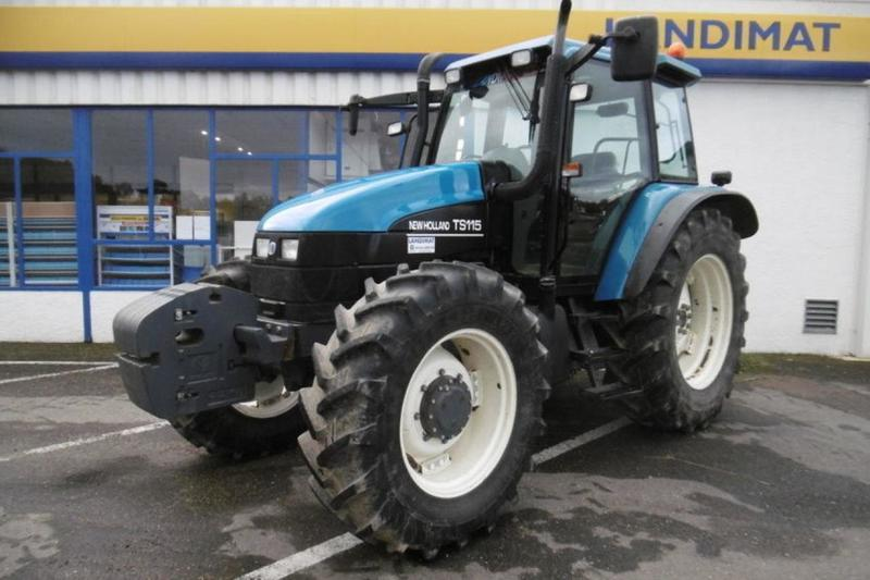 Wheel tractor New Holland TS115 — 3361928