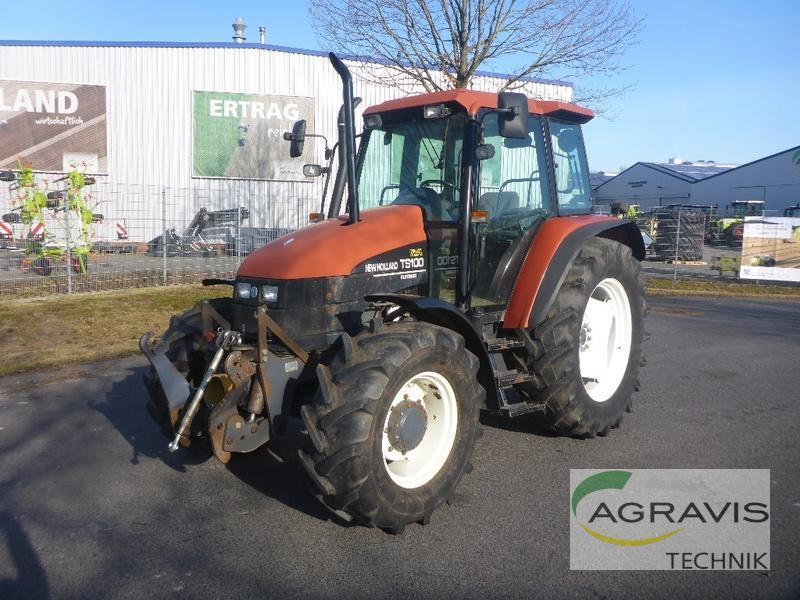 Prächtig Wheel tractor New Holland TS 100, 12693 USD - Truck1 ID - 3499572 &EE_92