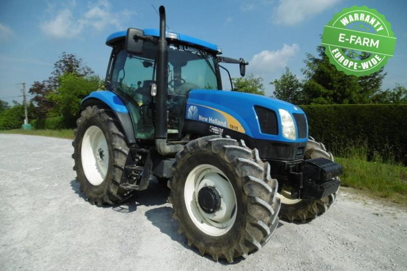 Wheel tractor New Holland TS 115 A — 3143533