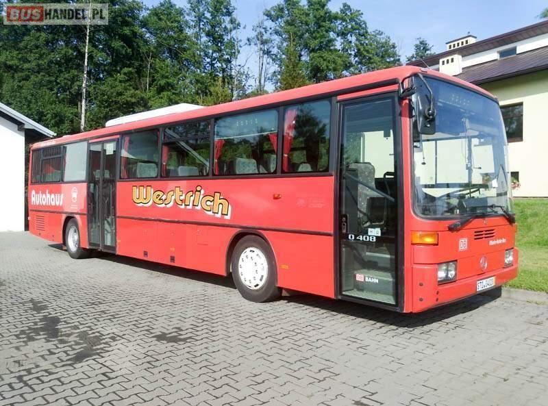 Suburban bus MERCEDES-BENZ 408 KLIMATYZACJA - Truck1 ID