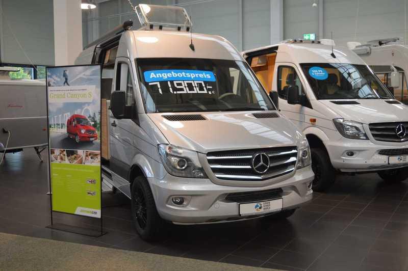07f025a3b1 New HYMER   ERIBA   HYMERCAR Grand Canyon S Mercedes camper van for ...