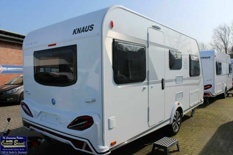 Travel trailer Knaus Südwind 460 EU Einzelbetten, ATC, 1700 k — 3585996