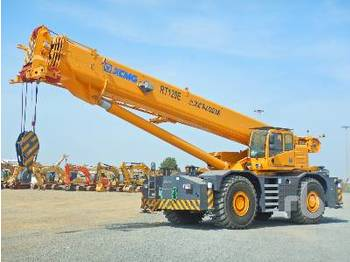 XCMG RT120E 120 Ton 4x4x4 - all terrain crane
