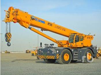 XCMG RT80 80 Ton 4x4x4 - all terrain crane