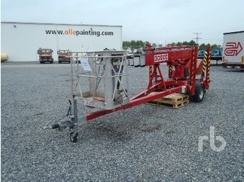 Denka Lift DL18 Electric Tow Behind - articulated boom