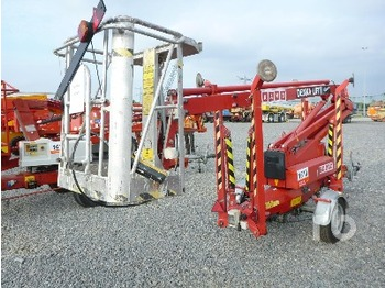 Denka Lift JR12 Electric Tow Behind - articulated boom