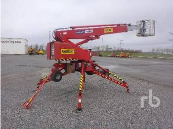 Denka World Lift DL22N Electric Walk Behind - articulated boom