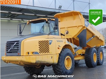 Volvo A25D Transmission overhauled - tailgate - hecklape - articulated dumper
