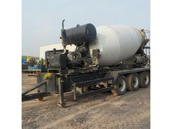L&T Tri Axle Cement Mixer c/w Deutz Engine, Air Brakes - concrete mixer