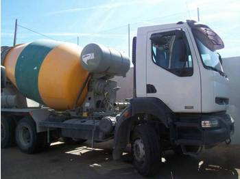 Renault 320dci 6x4 (3 units) - concrete mixer
