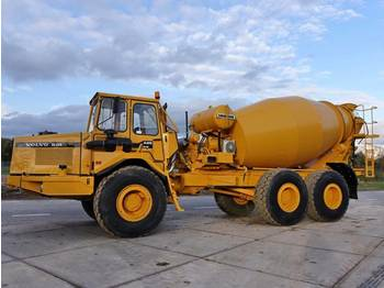 Concrete mixer Volvo A25 - LIEBHERR 9M3 MIXER Top condition