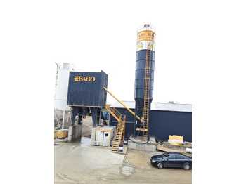 FABO POWERMIX-90 FIXED CONCRETE MIXING PLANT - concrete plant
