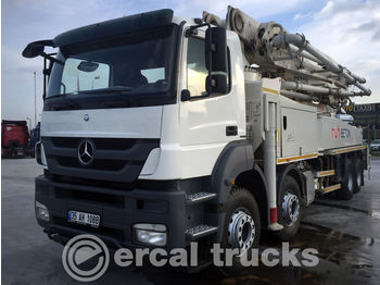 Concrete pump MERCEDES-BENZ 2012 AXOR 4140 PUTZMEISTER 47MT CONCRETE PUMP 2PCS