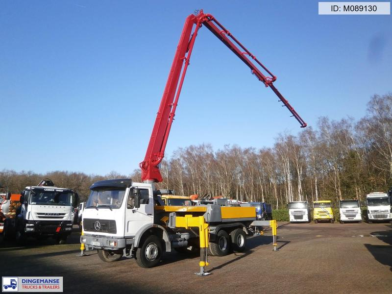 Concrete pump Mercedes SK 2628 6X4 Schwing concrete pump 24 m, 30180