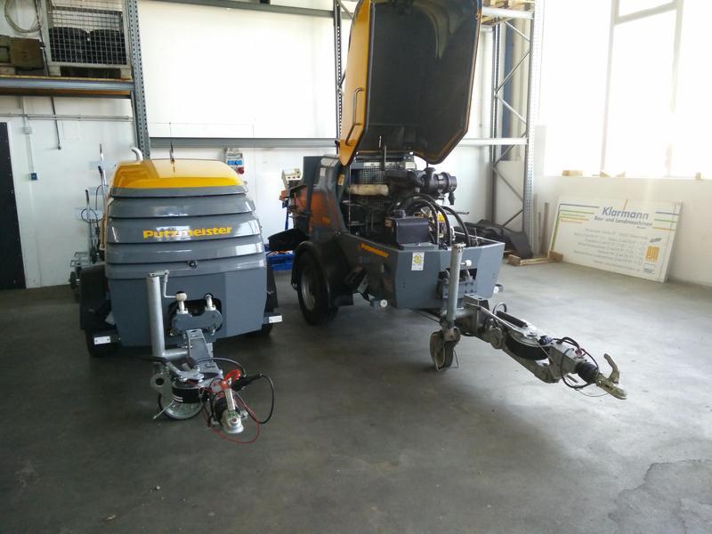 Concrete pump Putzmeister P718TD 61 000 -P715TD 51000 — 388058