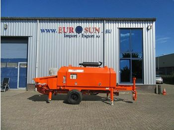 Concrete pump Putzmeister Trailer Mounted Pump 2007 PUTZMEISTER BSA 1407 D