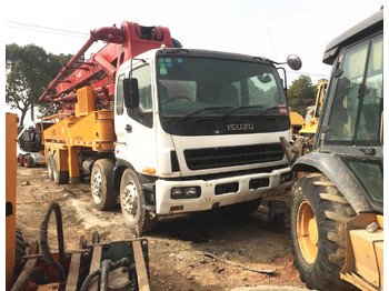 SANY SY5380THB 40m pump with right hand drive - concrete pump