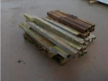 Pallet of Trailer Posts - construction equipment