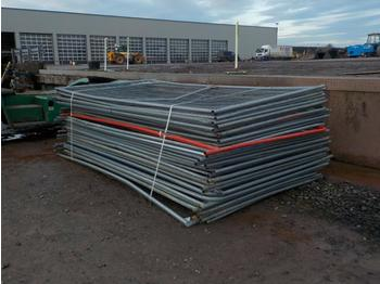 Selection of Heras Fencing - construction equipment