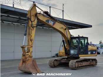 Crawler excavator Caterpillar 320D All functies and bucket