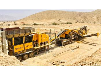 FABO MCK-110 WITH 250 T/H CAPACITY 4 FINAL FRACTIONS + BYPASS | READY IN STOCK - crusher