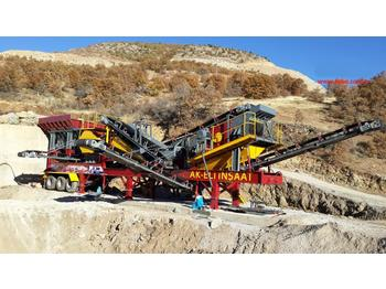 FABO MCK-60 MOBILE CRUSHING & SCREENING PLANT FOR HARDSTONE - crusher