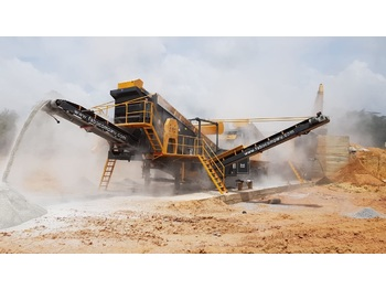 FABO MCK-90 MOBILE CRUSHING & SCREENING PLANT FOR BASALT - crusher