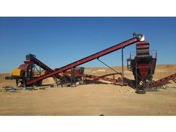 FABO STATIONARY TYPE 100-150 T/H CRUSHING & SCREENING PLANT - crusher
