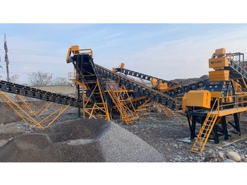 FABO STATIONARY TYPE 120-200 T/H CRUSHING & SCREENING PLANT - crusher