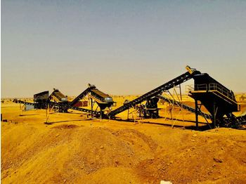 FABO STATIONARY TYPE 200-300 T/H CRUSHING & SCREENING PLANT - crusher