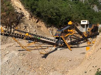 FABO STATIONARY TYPE 250-350 T/H CRUSHING & SCREENING PLANT - crusher