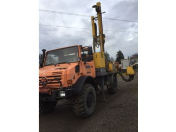 Atlas Copco Unimog U5000 - drilling machine