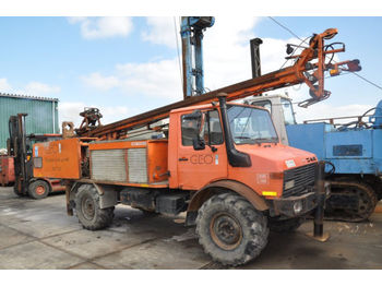 UNIMOG 1300 drilling rig - drilling machine