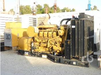 CATERPILLAR SR4B 1000 KVA Skid Mounted - generator set