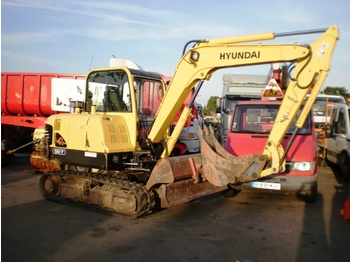 HYUNDAI ROBEX 55-7 MINI EXCAVATOR - construction machinery