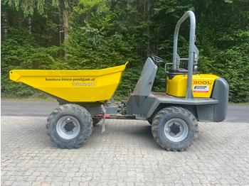 Mini dumper Wacker Neuson 3001