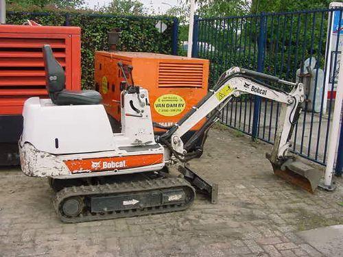 Mini Excavator Bobcat 316 Ea Truck1 Id 819787