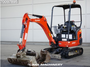 Mini excavator Kubota KX016-4 3 buckets: picture 1
