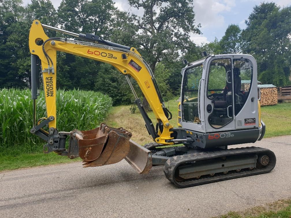 Mini excavator WACKER Neuson 6003 - Truck1 ID - 3840205