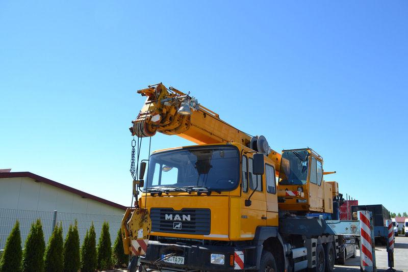 Mobile crane MAN MAN 33 363 Liebherr LTF 1030, 30 Tonnen 26 Meter — 3306818
